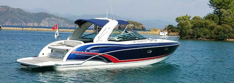 Spor tekne lüks sürat teknesi Formula 350 Sunsport